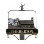 Theberton Sign
